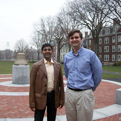 Karthik Nagendra with Prof Bradley